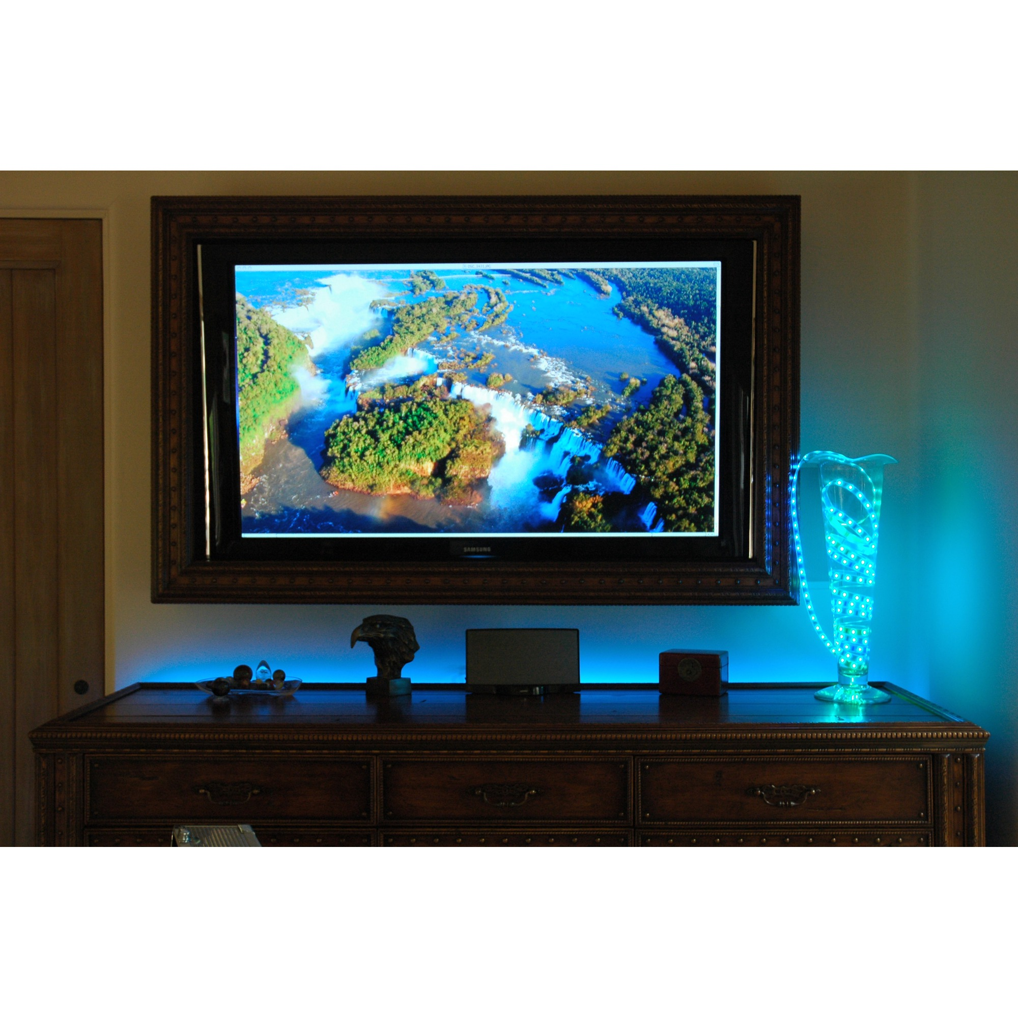 Led color changing strip lights can light up your home image image aloadofball Images