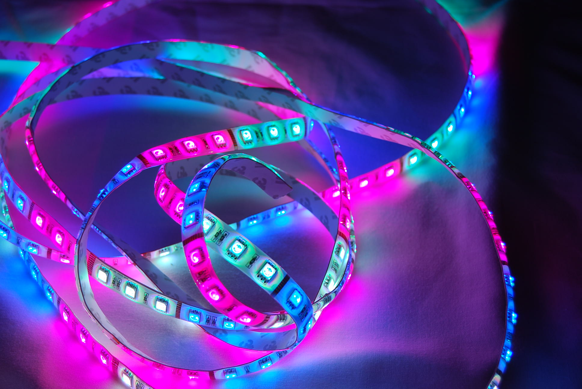 Led color changing strip lights can light up your home image image aloadofball Gallery